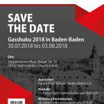 Gasshuku 2018 in Baden-Baden