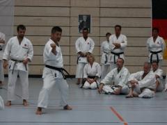 G2012_Koji Ogata, erstmals bei einem Gasshuku als Trainer
