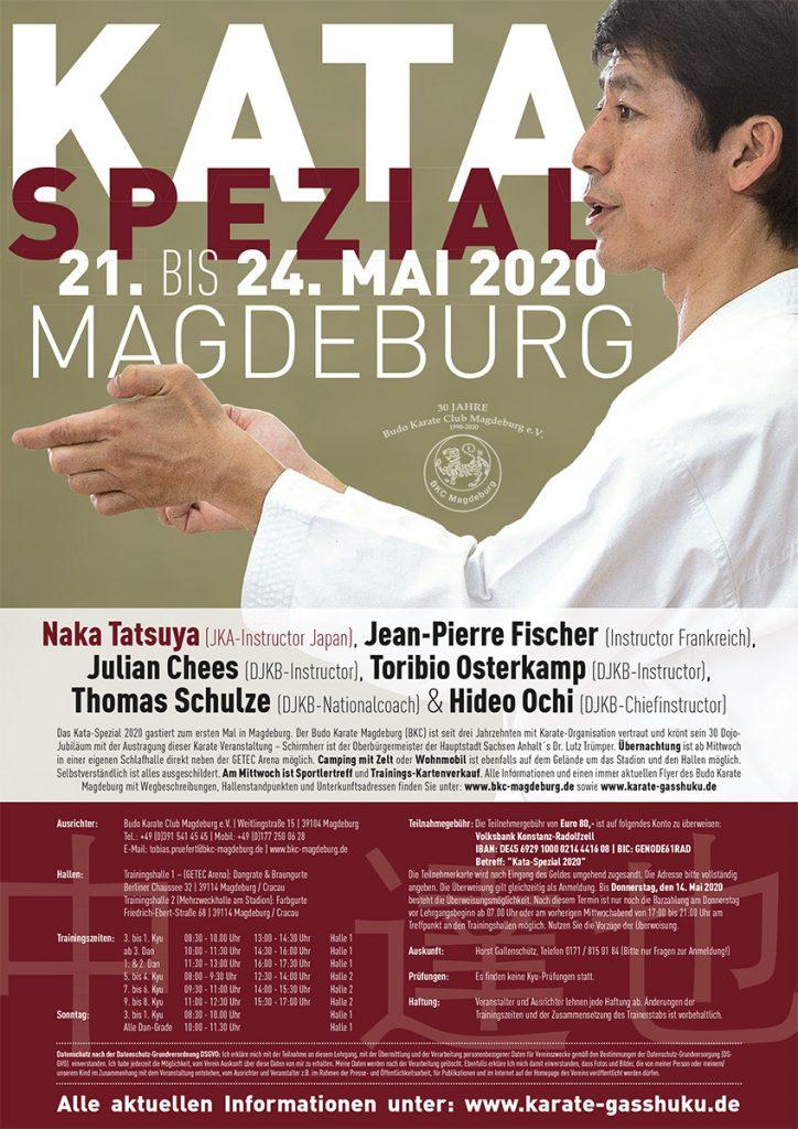 Kata Spezial 2020 Magdeburg - Poster